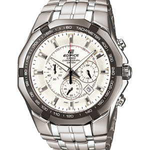 Casio Edifice EF-540D-7AVUDF Chronograph Tachymeter Stainless Steel