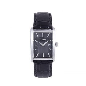 Citizen BH1677-08E - Stainless Steel & Leather Analog Watch For Men - Black Price In Pakistan