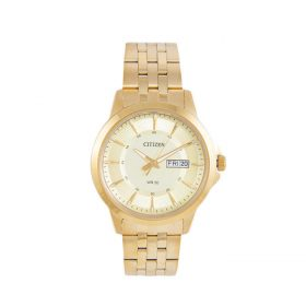 Citizen BF2019-50P - Stainless Steel Analog Watch For Men - Golden Price In Pakistan