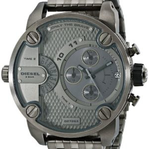 Diesel Mr. Daddy RDR Leather - Black Men watch #DZ7296 Price In Pakistan