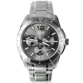 Citizen AG8300 -52H - Stainless Steel Men Watch - Metallic Silver Price In Pakistan