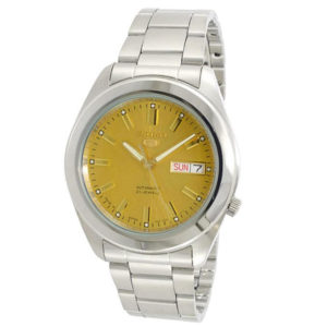 Seiko Men's Analog Watch SNKM63J1 - Golden Price In Pakistan