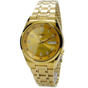 Seiko Golden Stainless Steel Watch For Men - SNK594J1 Price In Pakistan