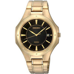 Seiko SGEF66P1 - Stainless Steel Men's Watch - Golden Price In Pakistan