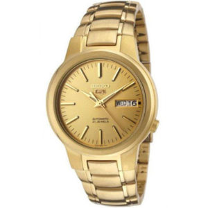 Seiko Gold Men Gold tone Stainless Steel Automatic Watch - SNKA10J1 Price In Pakistan