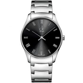 Calvin Klein K4D2114Y - Classic Watch for Men - Black Price In Pakistan