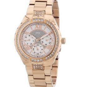 Guess W0111L3 Women's Rose Gold Multifunction Watch Price In Pakistan