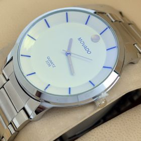 Movado 2235 Round White Dial Watch Price In Pakistan