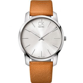 Calvin Klein K2G21138 - City Watch for Men - Silver Price In Pakistan