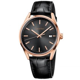Calvin Klein K4M216C3 - Formality Watch for Men - Black Price In Pakistan