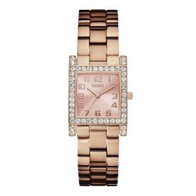 Guess W0128L3 Women's Rose Gold Dress Watch Price In Pakistan