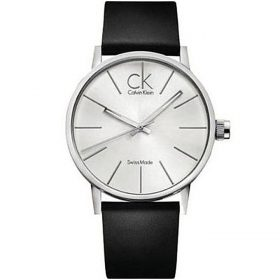 Calvin Klein K7621192 - Post minimal Watch for Men - Silver Price In Pakistan