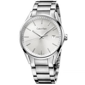 Calvin Klein K4N21146 - Time Watch for Men - Silver Price In Pakistan