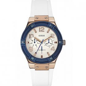 Guess Ladies Watch Analogue Quartz W0564L1 Silicon