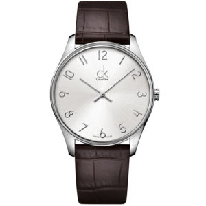 Calvin Klein K4D211G6 - Classic Watch for Men - Silver Price In Pakistan