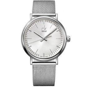 Calvin Klein K3W21126 - Surround Watch for Men - Silver Price In Pakistan