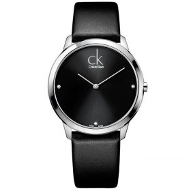 Calvin Klein K3M211CS - Minimal Watch for Men - Black Price In Pakistan