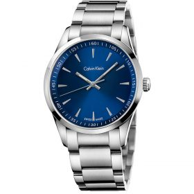 Calvin Klein K5A3114N - Bold Watch for Men - Blue Price In Pakistan