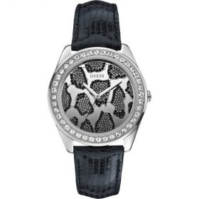 Guess W0056L1 Women's 3D ANIMAL Black Watch Price In Pakistan