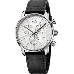 Calvin Klein K2G271C6 - City Watch for Men - Silver Price In Pakistan