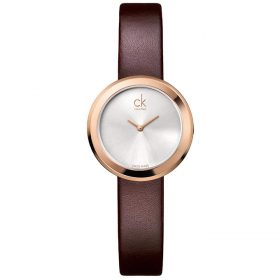 Calvin Klein K3N236G6 - Firm Watch for Women - Silver Price In Pakistan
