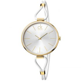 Calvin Klein K3V235L6 - Selection Watch for Women - Silver Price In Pakistan