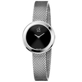 Calvin Klein K3N23121 - Firm Watch for Women - Black Price In Pakistan