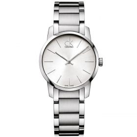 Calvin Klein K2G23126 - City Watch for Women - Silver Price In Pakistan