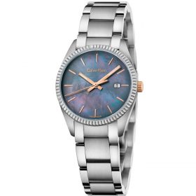 Calvin Klein K5R33B4Y - Mop Alliance Watch for Women - Black mother of pearl Price In Pakistan