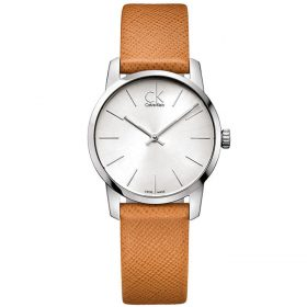 Calvin Klein K2G23120 - City Watch for Women - Silver Price In Pakistan