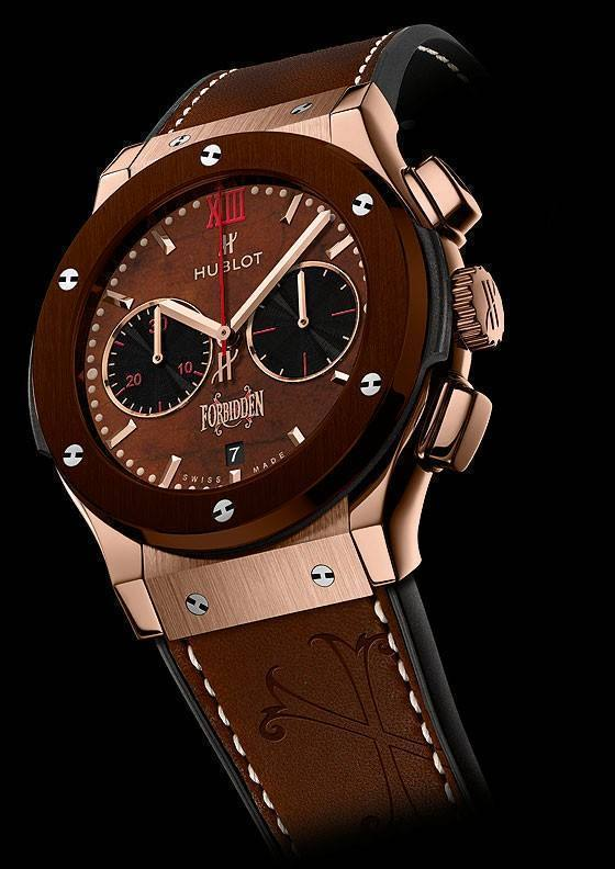 Hublot Forbidden X Titanium Brown Ceramic Price In Pakistan