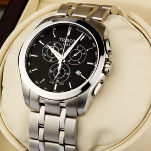 Tissot Couturier Valjoux black Price In Pakistan