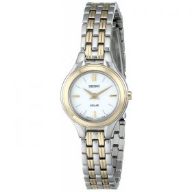 Seiko Women's SUP210 Classic Solar-Power Two-Tone Watch Price In Pakistan