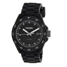 Fossil Analog Black Dial Unisex Watch AM4505 Price In Pakistan