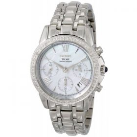 Seiko Women's SSC893 Stainless Steel Diamond-Accented Watch Price In Pakistan