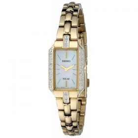 Seiko Women's SUP236 Dress Solar Gold-Tone Watch Price In Pakistan