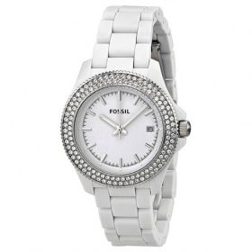 Fossil Analog White Dial Women's Watch AM4466 Price In Pakistan