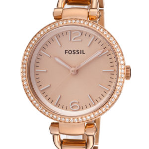 Fossil Women's ES3226 Georgia Glitz Three Hand Stainless Steel Watch Price In Pakistan