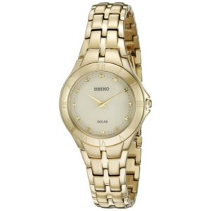 Seiko Women's 'Recraft Series' Quartz Stainless Steel Dress Watch (Model: SUP310) Price In Pakistan