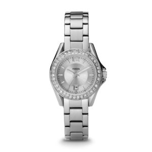 Fossil Crystal Date Silver Bracelet Ladies Watch ES2879 Price In Pakistan