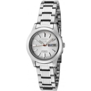 Seiko Women's SYMD87 Seiko 5 Automatic Light Silver Dial Stainless Steel Watch Price In Pakistan