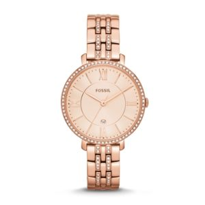 Fossil Women's ES3546 Jacqueline Rose Gold Tone Stainless Steel Watch Price In Pakistan