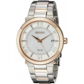 Seiko Women's SNE882 Two-Tone Stainless Steel Watch with Link Bracelet Price In Pakistan
