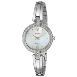 Seiko Women's SUP287 Solar Bangle Analog Display Japanese Quartz Silver Watch Price In Pakistan
