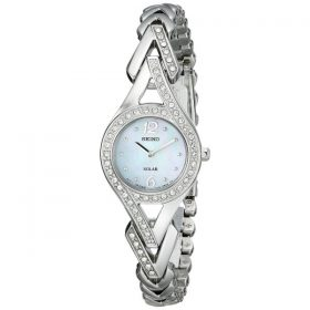 "Seiko Women's SUP173 ""Jewelry-Solar Classic"" Silver-Tone Stainless Steel Watch Price In Pakistan"