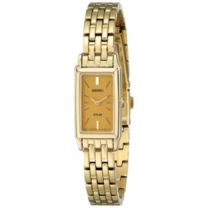 Seiko Women's SUP030 Solar Gold-Tone Bracelet Dress Watch Price In Pakistan