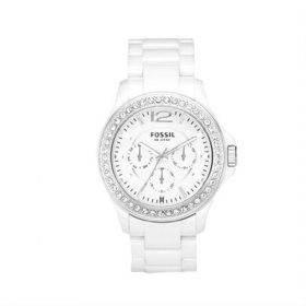 Fossil Ladies White Ceramic Chronograph Watch CE1010 Price In Pakistan