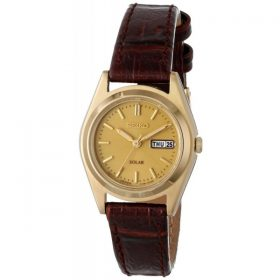 Seiko Women's SUT120 Analog Display Japanese Quartz Brown Watch Price In Pakistan