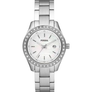 Fossil Women's ES2998 Stainless Steel Analog White Dial Watch Price In Pakistan