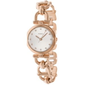 Fossil-ES3350 Women's Quartz Analogue Watch Bracelet Gold Plated Stainless Steel Pink Price In Pakistan